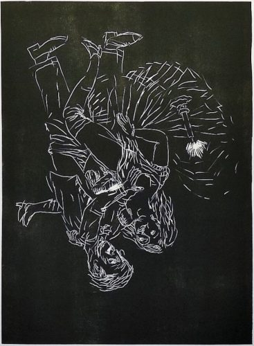 La nuit mit Marie by Georg Baselitz at
