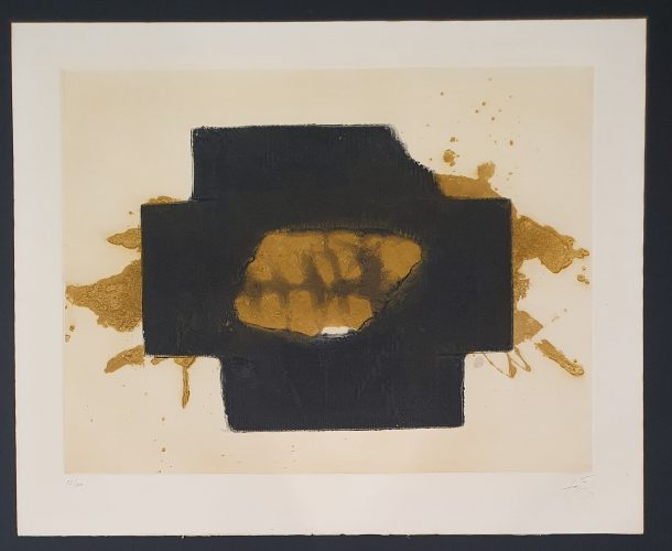 Nocturn Matinal G.245 by Antoni Tapies at