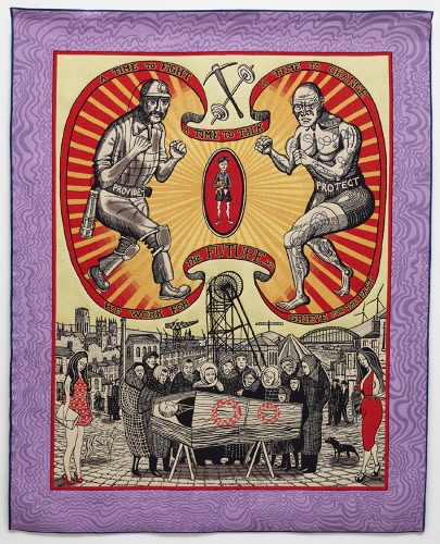 Death of a Working Hero by Grayson Perry RA at