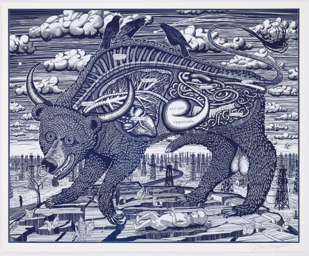 Animal Spirit (blue) by Grayson Perry RA at