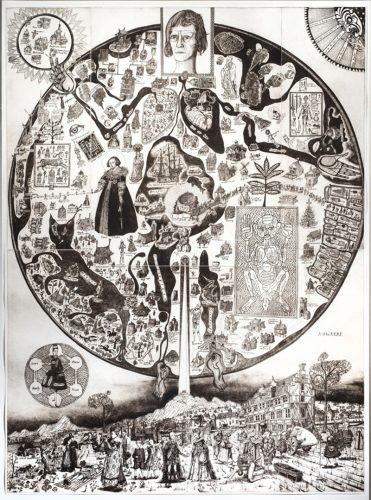 Map of Nowhere by Grayson Perry RA at