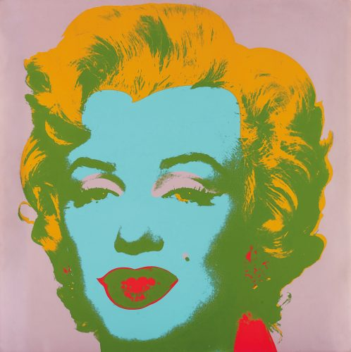Marilyn #28 by Andy Warhol at