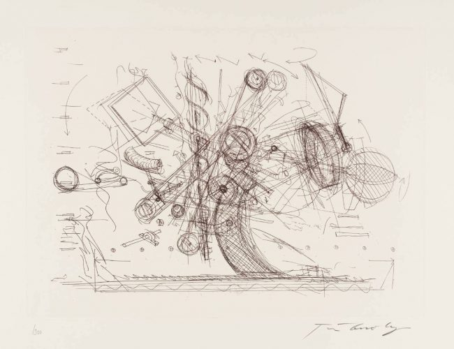 Chaos I by Jean Tinguely at