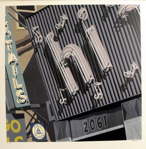 Hi by Robert Cottingham at