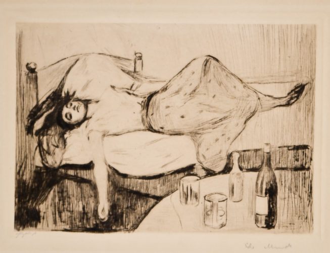 Dagen Derpå (The Day After) by Edvard Munch at