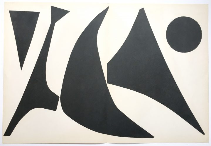 Derriere le Miroir 113 by Alexander Calder at William Chambers Art