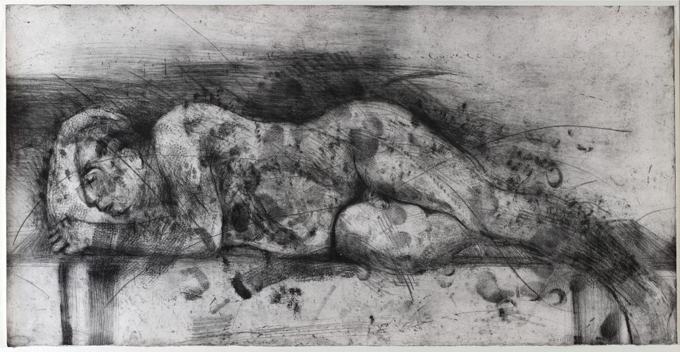 Sleeper I by William Kentridge at