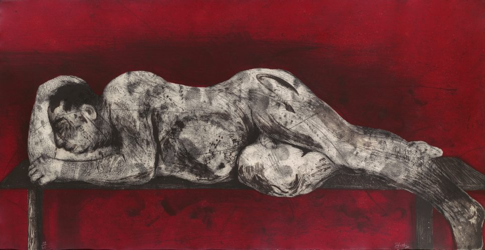 Sleeper – Red by William Kentridge at