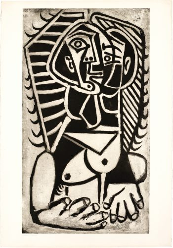 L'Égyptienne by Pablo Picasso at