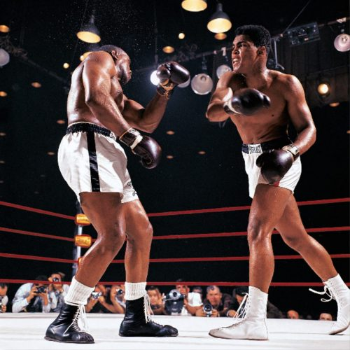 Clay vs. Liston I by Neil Leifer at