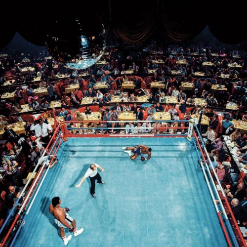 Ali vs. Foster by Neil Leifer at