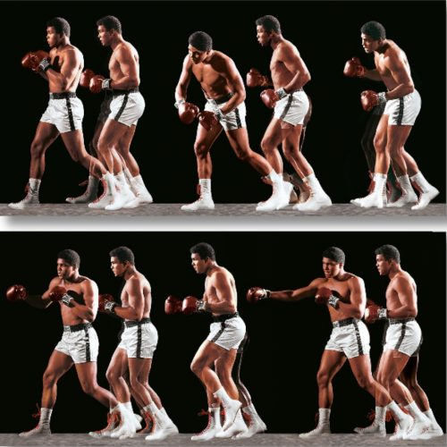 Ali Invents the Double-Clutch Shuffle by Neil Leifer at Neil Leifer