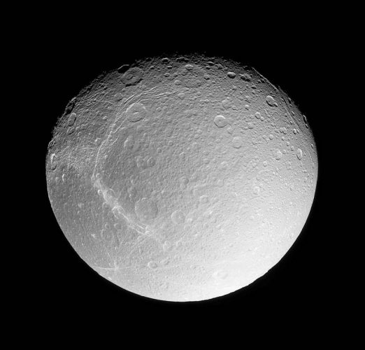 'Saturn's Moon Dione' 2004 Science Photo Library Print by Science Photo Library Archive at