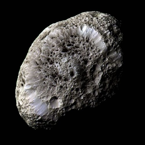 'Saturn's Moon Hyperion' 2005 Science Photo Library by Science Photo Library Archive at