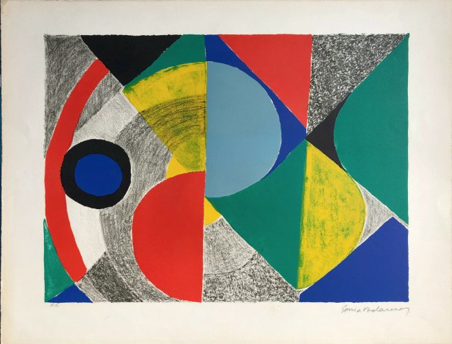 Composition, 1970 by Sonia Delaunay at K Contemporary Ltd.