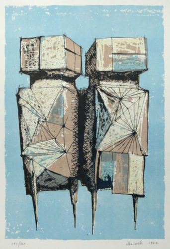 Die Wachter, 1960 by Lynn Chadwick at