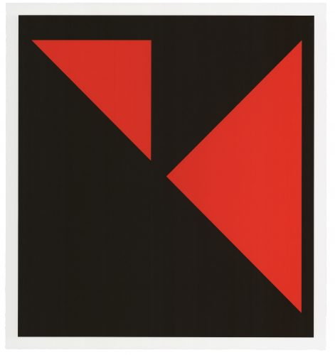 Island by Carmen Herrera at Universal Limited Art Editions (ULAE)