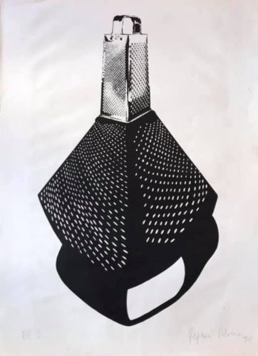 Untitled (grater) by Regina Silveira at