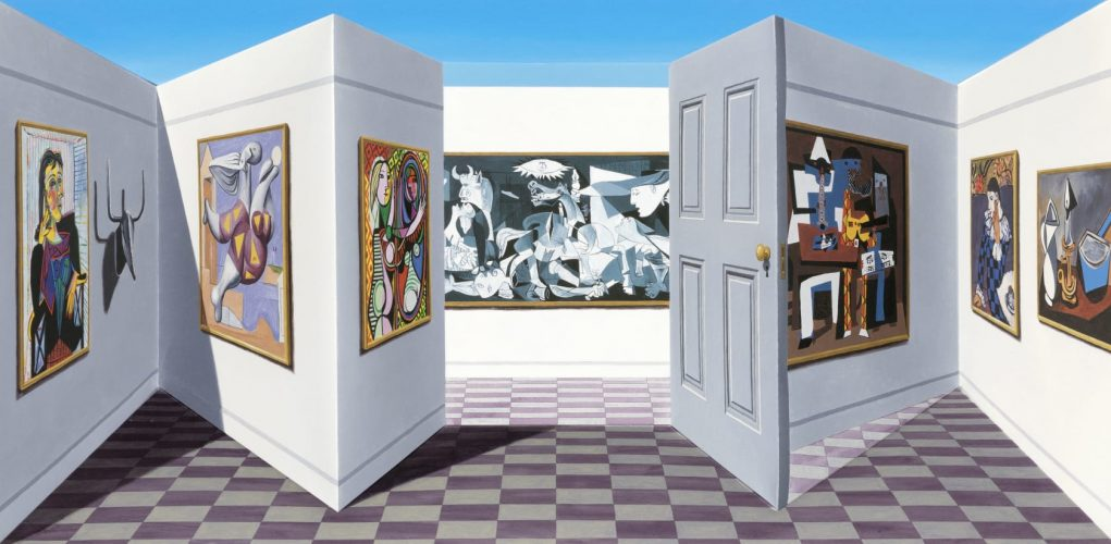 Picasso by Patrick Hughes at
