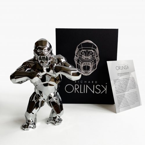 'Kong Spirit' (Silver Edition) by Richard Orlinski at Richard Orlinski