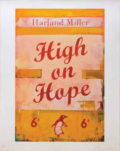 High on Hope. by Harland Miller at