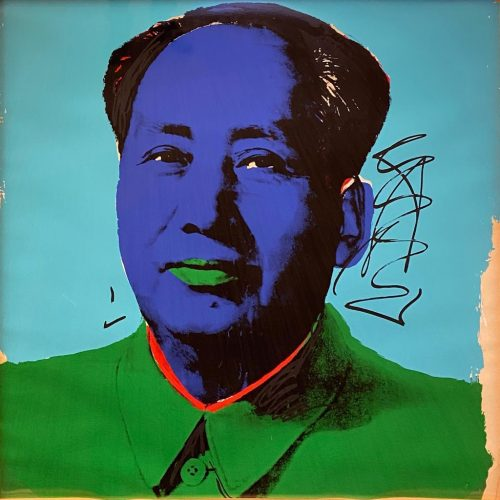 Mao II.99 by Andy Warhol at