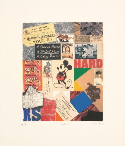 Mickey by Peter Blake at ARTContent Editions Limited