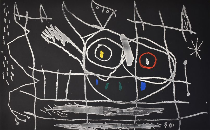 Couple of Birds III | Couple d'Oiseaux III, 1966 by Joan Miro at