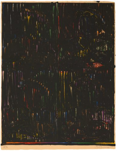 After Holbein by Jasper Johns at