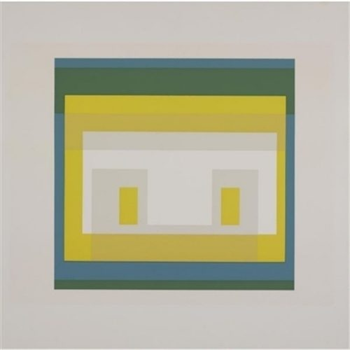 Variant II, from 10 variants by Josef Albers at