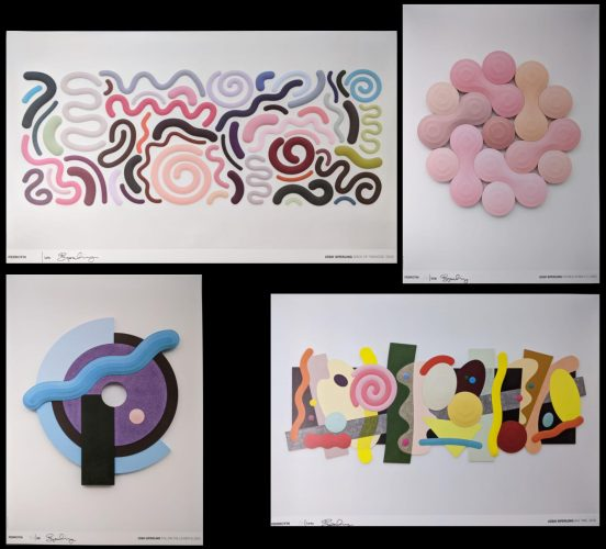 Full Set of 4 Signed Limited Edition Josh Sperling Posters by Josh Sperling at