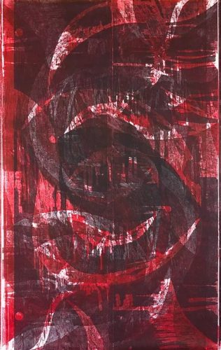 Untitled (red) by Cleber Alexsander at