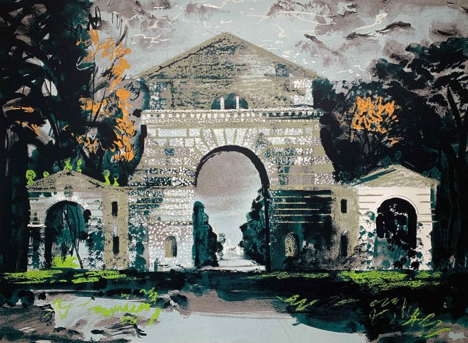 Holkham Gate, Norfolk by John Piper at