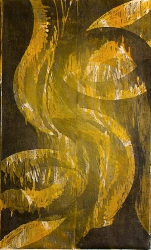 Untitled (yellow) by Cleber Alexsander at