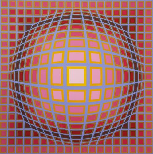 Titan c by Victor Vasarely at