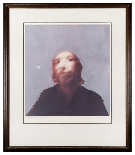 A Portrait of the Artist by Francis Bacon by Richard Hamilton at