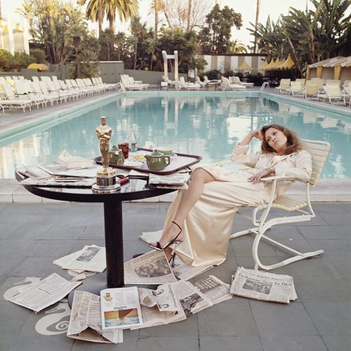 Oscar Ennui Supersize 72 x 72″ / 183 x 183 cm Limited Estate Print by Terry O'Neill at
