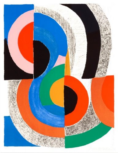 Hippocampe by Sonia Delaunay at K Contemporary Ltd.