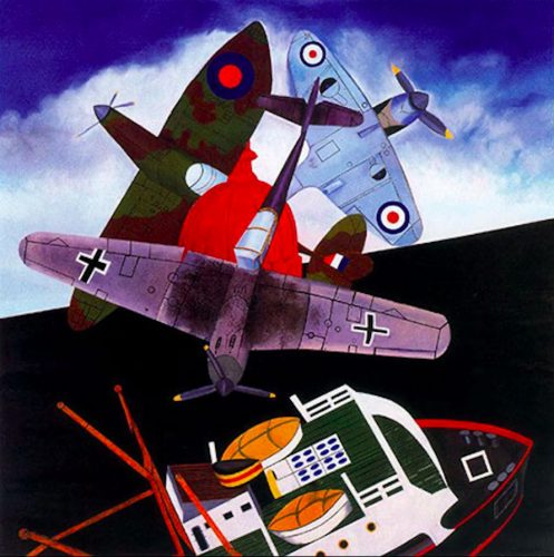 Battle of Britain by Malcolm Morley at ARTContent Editions Limited