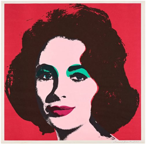 Liz by Andy Warhol at Susan Sheehan Gallery (IFPDA)