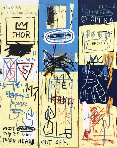 Charles The First by Jean-Michel Basquiat at Hamilton-Selway Fine Art