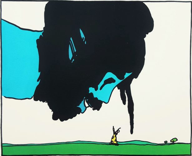 The Great Genie by Peter Max at