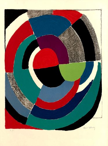 Rose des Vents, 1970 by Sonia Delaunay at K Contemporary Ltd.