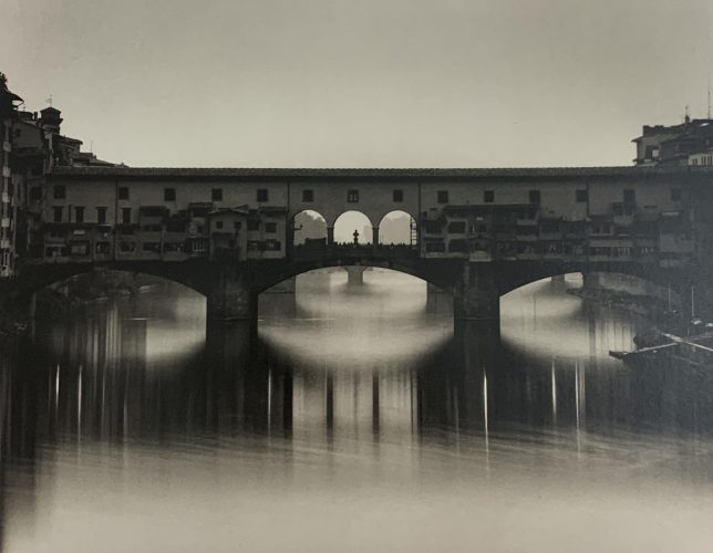 Ponte Vecchio, Florence, Italy by Michael Kenna at