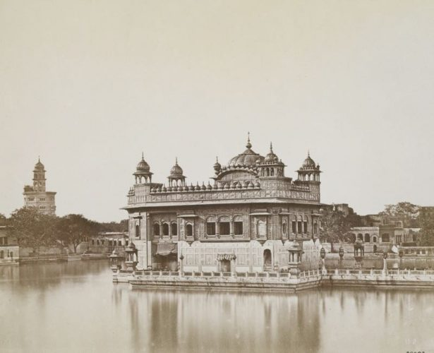 'The Golden Temple' 1858 Felice Beato Print by Felice Beato at