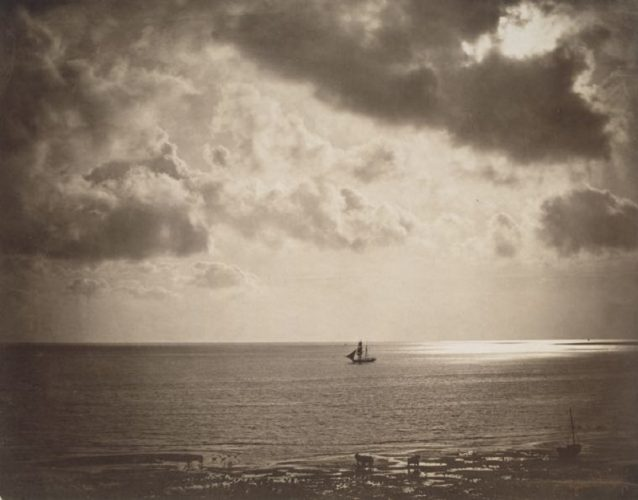 'The Brig' 1856 Gustave Le Gray Print by Gustave Le Gray at