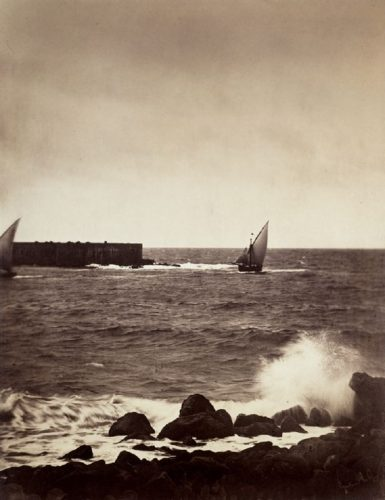 'The Breaking Wave' 1857 Gustave La Gray Print by Gustave Le Gray at