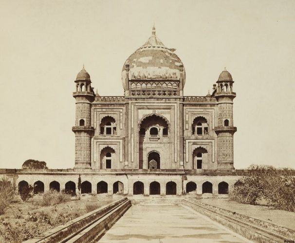 'Sufter Jung's Tomb' 1858 Felice Beato Print by Felice Beato at