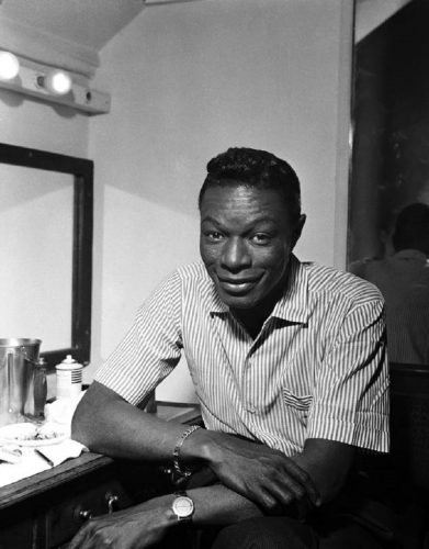 'Nat King Cole' 1960 Harry Hammond Print by Harry Hammond at