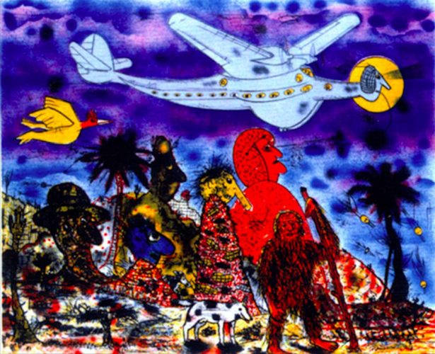Primeval Times by Roy Deforest at ARTContent Editions Limited